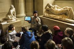 Paris - Louvre (Kees Verburg) Tags: paris france art children education louvre class teacher lesson