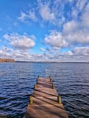 PIC_20160323_082616-01 (Sharkomat) Tags: deutschland see wasser sony himmel wolken z z3 rendsburg eckernförde compact schleswigholstein steg norddeutschland exmor z3c wittensee xperia bünsdorf
