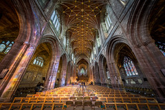 Chester Cathedral (16th April 2016) (Mark Carline) Tags: cheshire cathedral chester hdr chestercathedral chesterculture