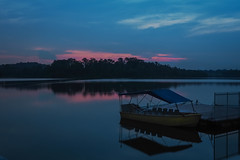 Blue and Pink (elenaleong) Tags: sunset quiet sundown serene tranquil lastlight lowerpeircereservoir
