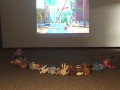I love this film! (scotchplainspubliclibrary) Tags: animal stuffed sleepover scotchplains scotchplainspubliclibrary