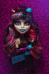 Disco Heaven (Lady Barbarella) Tags: monster high dolls zombie ooak shake custom rochelle repaint goyle restyled