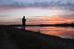 Sunset (big.mattia) Tags: life sunset italy orange cloud sun milan nature landscape italia tramonto nuvole milano natura paesaggio arancione cusago