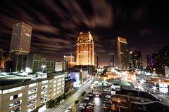 New Orleans Skyline (ap0013) Tags: louisiana la new orleans nola neworleans neworleanslouisiana neworleansla downtown night skyline cityscape city longexposure long exposure urban
