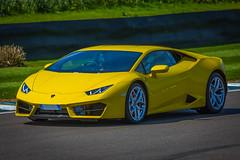 Lamborghini Huracan (cliff sear) Tags: goodwood trackday yellowlamborghini midasyellow