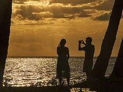 memories_of_us (gerhil) Tags: ocean sunset sky beach landscape spring outdoor naturallight maui handheld moment travelphotography photoborder april2016 adobelightroomcc olympusomdem10mkii macphunintensifyck tamron14150f3556lens