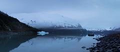 Portage dawn (Andy@AK) Tags: blue lake ice alaska sunrise dark dawn pano panoramic