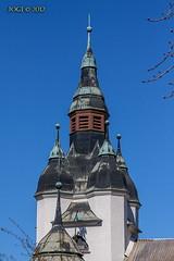 Leipzig, Zoo, Turm vom alten Affenhaus (joergpeterjunk) Tags: zoo outdoor leipzig architektur turm canonef70300mmf456isusm canoneos50d