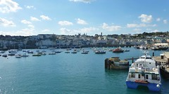 Guernsey Harbour  (Explored) (Bogger3.) Tags: sunnyday coth guernseyharbour panasonicdmcfs35