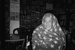 *** (Boris Rozenberg) Tags: life light portrait blackandwhite film girl smile face bar night analog photography blackwhite friend grandmother books moment expiredfilm filmphotography atmoshpere filmcommunity