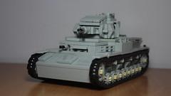 Panzer IV ausf. E (italianww2builder) Tags: war tank german e ww2 custom iv panzer ausf
