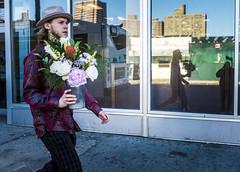 untitled-13a (Runs With Scissors) Tags: flowers reflection lowereastside purplejacket x100t