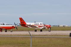 United States Navy Beech T-44C Pegasus (H90) 161070 (jbp274) Tags: airport corpuschristi pegasus military airplanes beechcraft usn beech kingair unitedstatesnavy crp t44 h90 kcrp