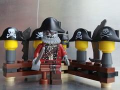 Pirate Hats HMM (captain_joe) Tags: toy lego pirate minifig spielzeug pirat cutlass minifigure series14 macromondays 365toyproject beginswiththeletterp