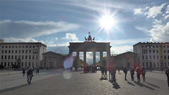 Brandenburg Gate against the sun (catenius) Tags: sun berlin gate brandenburg  2016