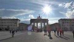 Brandenburg Gate against the sun (catenius) Tags: sun berlin gate brandenburg  2016