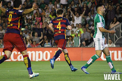 Betis - Barcelona 076 (VAVEL Espaa (www.vavel.com)) Tags: fotos bara rbb fcb betis 2016 fotogaleria vavel futbolclubbarcelona primeradivision realbetisbalompie ligabbva rakitic betisvavel barcelonavavel fotosvavel juanignaciolechuga