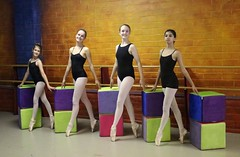 Cubism In Ballet <> Miss Cecily's Friday Pointe Hour (chicbee04) Tags: arizona ballet ballerina tucson cubes photosession props photostream cubism inthestudio balletdancers southwesternusa posingforthecamera enpoint arizonaballettheatre canoneos70d fouryoungballerinas