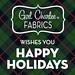 Happy Holidays from Girl Charlee Fabrics