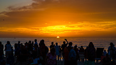 Sunset Nokomis Beach Florida (Explore 12-31-2015) (Mi Bob) Tags: florida nokomisbeach