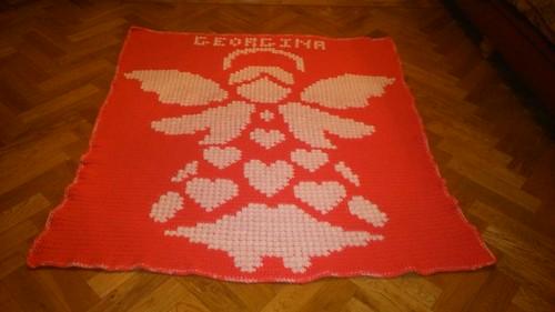Angel blanket for Georgina