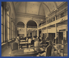 State Library Reading Room, ca. 1895-1915 (State Library of Massachusetts) Tags: bostonmassachusetts massachusettsstatehouse massachusettslegislature statelibraryofmassachusetts