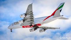 Emirates, Airbus A380-861, A6-EOS, 203, 15. januar 2016 (mhoejte) Tags: emirates airbus a380 cph copenhagenairport ekch a6eos