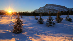 Slow Riser (JA Photography - Be There, Out There) Tags: sunrise alberta banffnationalpark sunstar canadianrockymountains