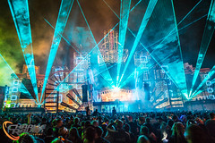 Boomtown 2015 - Banghai Palace (charlie raven) Tags: uk music festival canon dance fireworks live crowd festivals fair palace lasers pyro goldie electronic dnb boomtown 2015 banghai