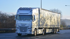 HF RG2020 (panmanstan) Tags: truck wagon yorkshire transport lorry commercial vehicle freight daf xf haulage hgv southcave a63 curtainsider