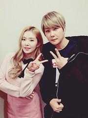 [Twitter] 160129 KBS Music Bank - Shinhwa Hyesung and Irene (redvelvetgallery) Tags: irene redvelvet shinhwa kpop hyesung koreangirls selca musicbank smtown  kpopgirls ireneselca