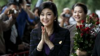 泰国对前总理英拉渎职案展开庭审