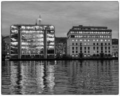 Bergen # 7 (ver.2 b&w) (Krogen) Tags: bw norway norge blackwhite norwegen bergen hordaland krogen svarthvitt olympusc7070 svhv silverefexpro