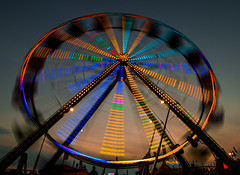 MN State Fair (hogue_photography) Tags: sunset statefair ferriswheel minnesotastatefair mnstatefair mnfairgrounds