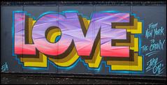 The Art Quarter Street Art (Mabacam) Tags: streetart london love wall graffiti stencil mural letters wallart urbanart blocks freehand publicart croydon aerosolart spraycanart stencilling tizer simples blockbusters 2016 straights urbanwall theartsquarter justeone