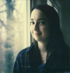 india (lawatt) Tags: portrait india film diptych niece instant slr680 jeanshouse theimpossibleproject color600