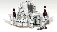 Minas Tirith 10 (Anduin1710) Tags: city white men king minas lego lotr return tolkien middleearth jrr tirith the thelordoftherings ldd gondor digitaldesigner