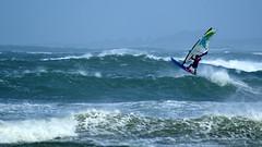 Wind surf Lampaul Ploudalmezeau (patrick_milan) Tags: sea mer waves bretagne vagues voile planche windsurf finistre saintpabu ploudalmezeau lampaul