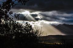Luce (DarioMarulli) Tags: alberi nikon nuvole sunbeams abruzzo laquila d3200 raggidisole nikonclubit
