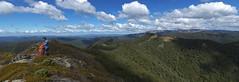 Kaweka Panorama (Ruahine Tramper) Tags: newzealand panorama cloud bush tramping kaimanawa ptgui kaweka