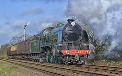 777. Southern power! . (Alan Burkwood) Tags: steam locomotive 777 sr quorn n15 gcr sirlamiel