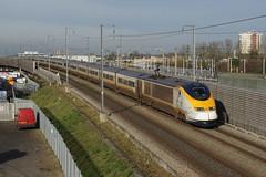 Eurostar 3021 Rainham (Gridboy56) Tags: uk railroad england train eurostar bruxelles trains railways essex 373 rainham hs1 bruxellesmidi stpancrasinternational 373022 373021