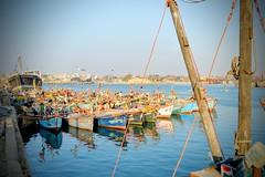 Fishing boats (Vijay_ktyely) Tags: sea boats fishing gujarat porbandar