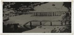 Once upon a time - Thailand Kanchanaburi - Bridge on the River Kwai (railasia) Tags: bridge thailand infra destroyed reproduction kanchanaburi fourties emergencybridge jir burmarailway metergauge thamakham