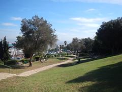 Haifa (Fufulula, thanks for 1,5 million visits) Tags: blue green haifa sculpturegarden publicgarden ursulamalbin