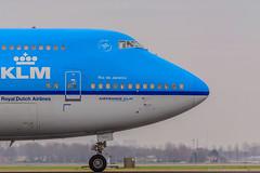 PH-BFR | Boeing 747-406 | KLM | AMS (Silent.91) Tags: amsterdam plane airplane nikon exterior aircraft boeing klm schiphol ams 747 spotting b747 eham planespotting b744 phbfr d5200