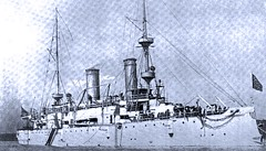 USS Olympia, protected cruiser, built 1891 (SSAVE w/ over 6 MILLION views THX) Tags: spanishamericanwar flagship 1898 ussolympia battleofmanila commodoregeorgedewey