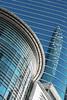 (eflon) Tags: windows reflection glass lines modern 50mm downtown texas tx curves houston bldg bldgs