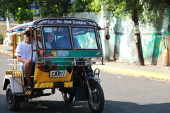 Taxi (Eliza Frydrych) Tags: street people tricycle taxi philippines transport passengers motorbike