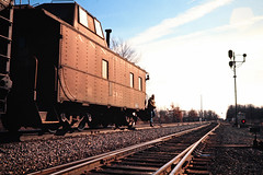 AA, Dundee, Michigan, 1975 (railphotoart) Tags: tower unitedstates dundee michigan nb aa diann stillimage tf5